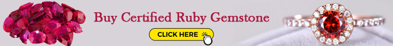 Buy natural certified ruby