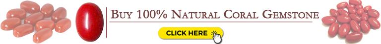 Buy Natural coral gemstone