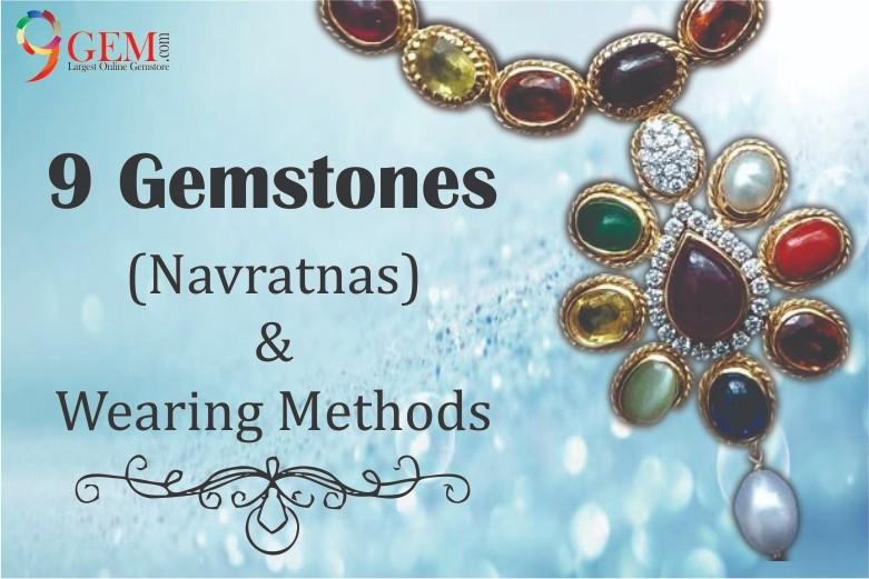 9gemstones and their wearing methods