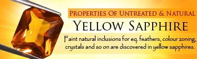 properties of yellow sapphire stone