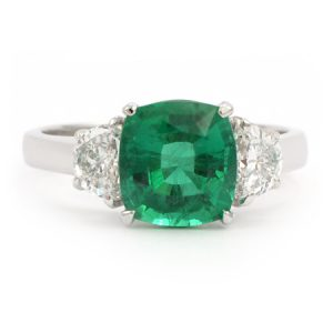 emerald cut rings-9Gem