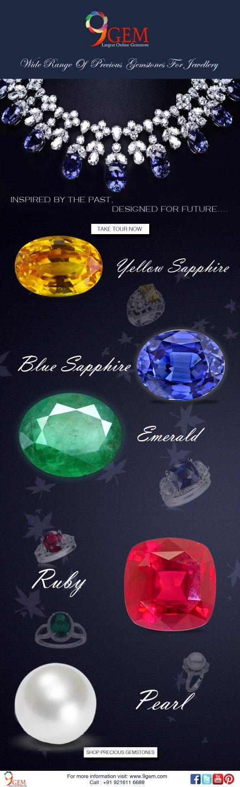 9Gem Precious Gemstone Collection