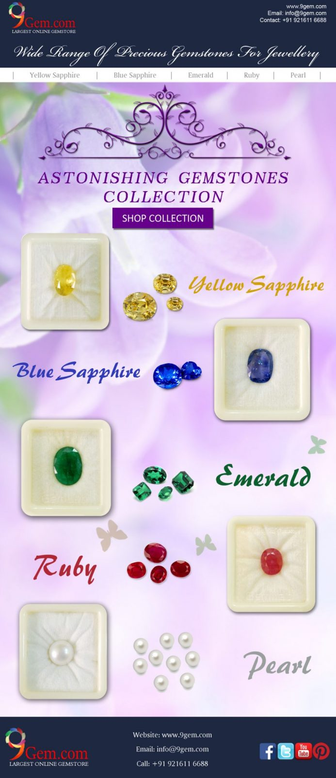 precious gemstone collection at 9Gem