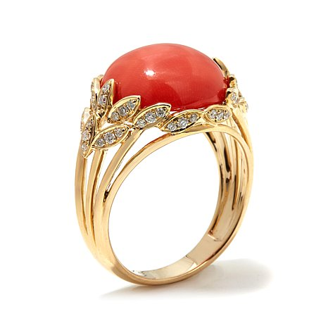 red-coral-stone-ring