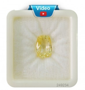 Super premium yellow sapphire