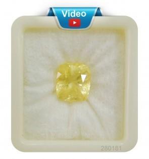 Premium Grade yellow sapphire