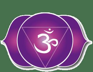 The third eye chakra sign