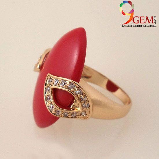 Red Coral Gemstone-9Gem