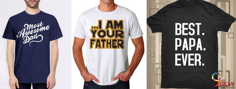 Men T-shirt- Quotes About Dad