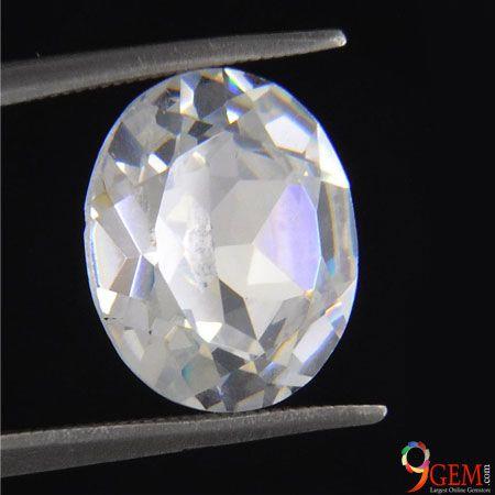 White Zircon Gemstone
