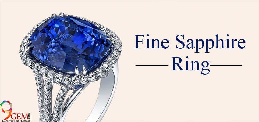 Blue Sapphire Ring-9Gem