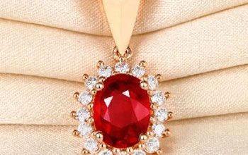 Ruby Gemstone Pendant