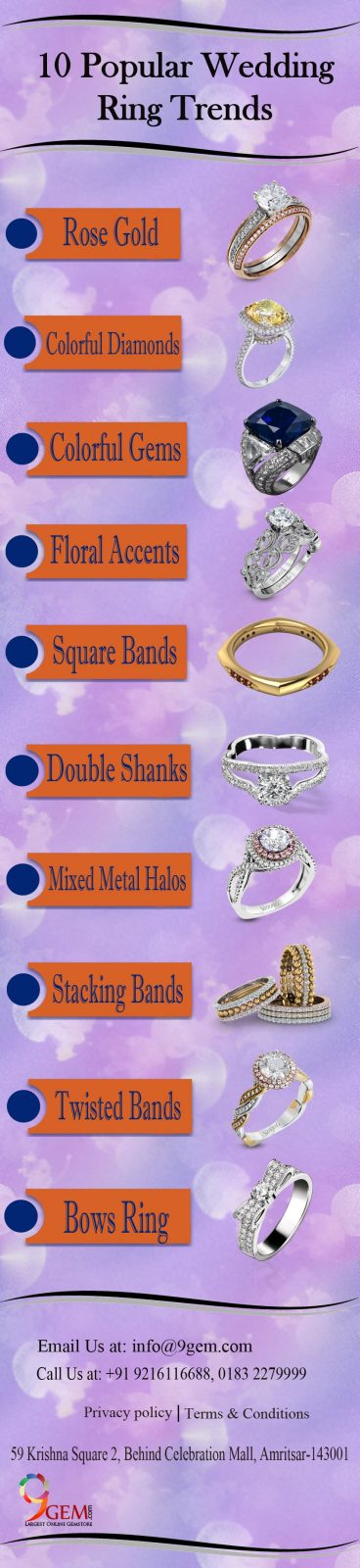 10 Popular Wedding Ring Trends