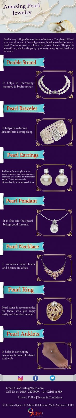 Amazing Pearl Jewelry