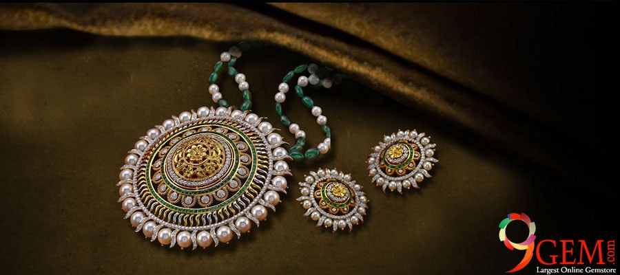 Designs Of Precious And Semi-Precious Stones Jewelry