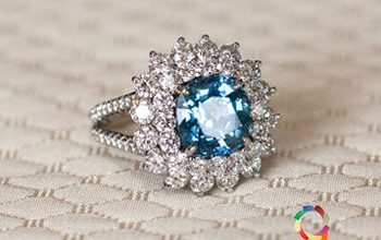 Bold And Luxurious Top Gemstone Engagement Ring