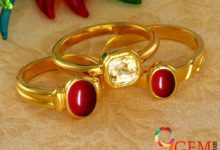 Should I wear a coral and a yellow sapphire together?