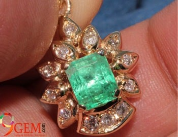 gemstone for business and financial growth