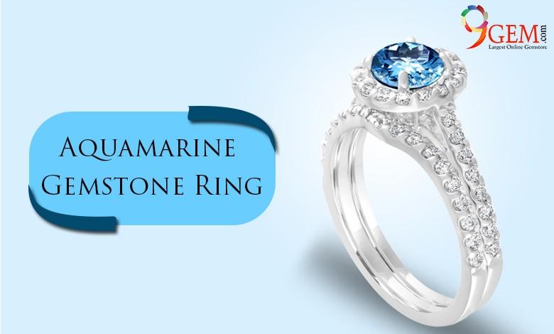 Aquamarine Gemstone Rings