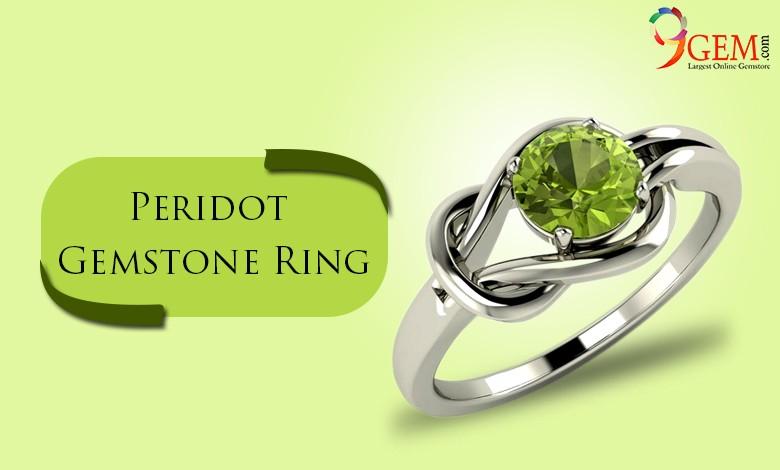 Peridot Gemstone Rings