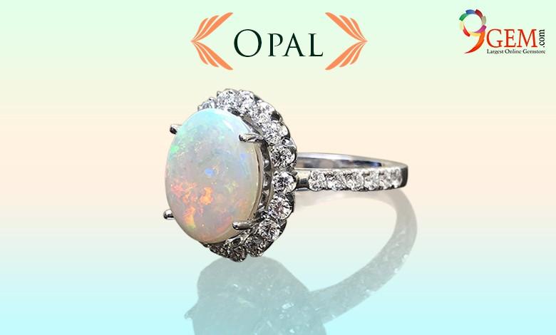 Opal Ring-9Gem