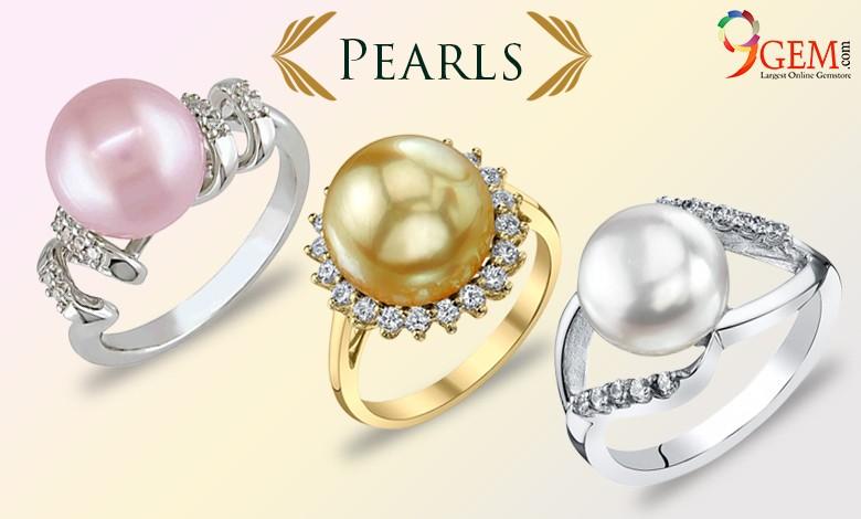 Pearl Ring-9Gem