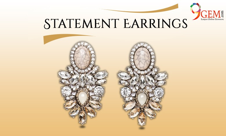 Statement Earrings-9gem