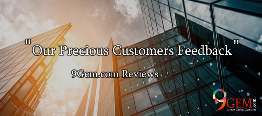 Our Precious Customers Feedback- 9Gem reviews