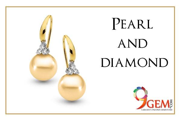 Pearl and diamond Jewellery