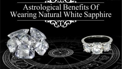 Astrological Benefits Of Wearing Natural White Sapphire