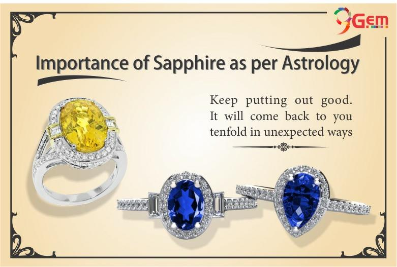 Importance of Sapphire AS per Astrology